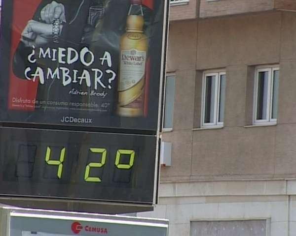 Meteorología prevé activar mañana la alerta roja en la provincia de Jaén por temperaturas máximas de 44 grados