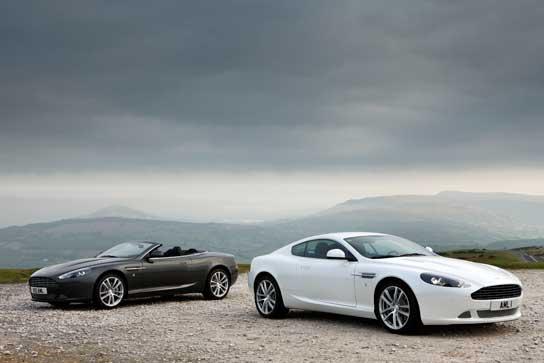 Aston Martin DB9 Facelift