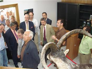 Inaugurado el centro de interpretación de caza de Guijo de Santa Bárbara, que cuenta con una inversión de 350.000 euros