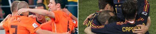 Holanda - Espa�a, lo nunca visto en una final de un Mundial de f�tbol