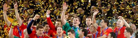 Espa�a se proclama campeona del mundo al vencer a Holanda con gol de Iniesta  (Imagen: EFE)