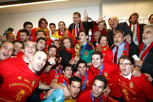 Vestuarios de la selección española