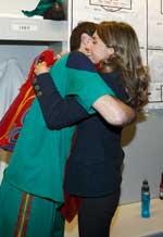<p>Letizia e Iker Casillas</p>