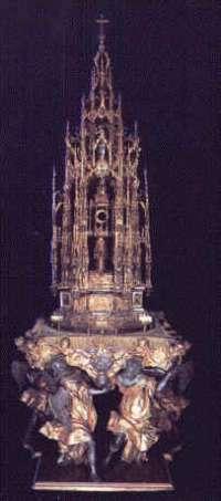 La custodia de Arfe de Toledo, obra