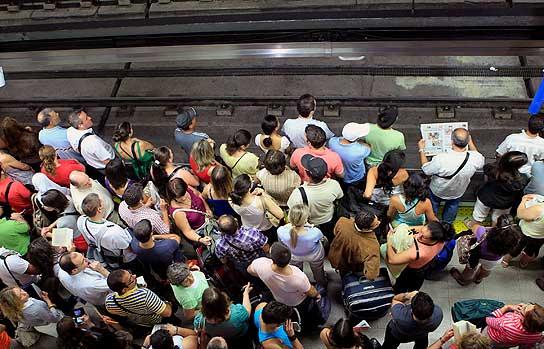 Huelga de metro
