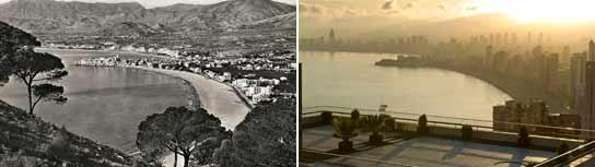 Benidorm, antes y después