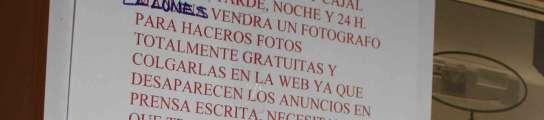 Cae una red de prostitución que se publicitaba en prensa, con 105 detenidos  (Imagen: JEFATURA SUPERIOR DE POLICÍA)