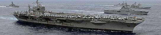 El portaaviones USS George Washington