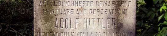 La extraña historia del judío Adolf Hittler, enterrado en el camposanto Filantropía  (Imagen: EFE)