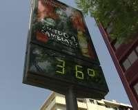 Ourense estará este miércoles en alerta naranja por temperaturas altas, que pueden alcanzar los 39 grados
