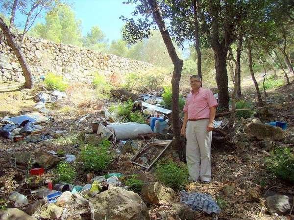 El PSM de Inca denuncia ante la policía la existencia de un vertedero incontrolado de residuos a Santa Magdalena