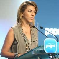 Cospedal acusa al PSOE, Blanco y Barreda de