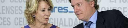 Esperanza Aguirre y Antonio López-Istúriz