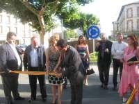 Cerca de 390.000 euros sirven para mejorar la seguridad vial de la travesía de la localidad oscense de Graus