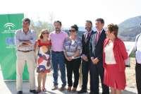 La Junta inaugura el tramo de la A-6050 que enlaza la capital con Los Villares tras 4,6 millones de inversión