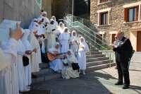 Las Siervas de Maria de Azpeitia (Gipuzkoa) visitan el Aquarium de San Sebastián