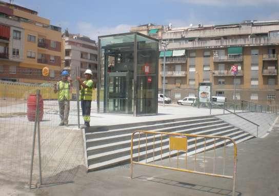 El Metro Llega Al Barrio Barcelones Del Carmel Cinco Anos