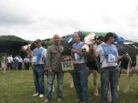 Más de 150 animales de 22 ganaderías participarán en el Concurso-Exposición de Ganado Vacuno Frisón Saneado