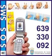 El servicio 'SOS SMS' mejorará la comunicación entre personas con problemas de comunicación y servicios de emergencia