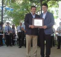 Francisco Álvarez-Cascos nombrado 'Paisano de Honor 2010' en Valencia de Don Juan (León)