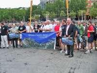 Un total de 18 bateles participan en la 18 edición de la regata 'Trophée Teink' que une Bilbao con San Juan de Luz