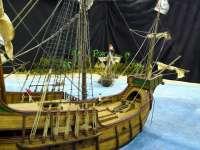 Una exposición recoge en la Ciudadela de Pamplona 35 maquetas y escenas navales