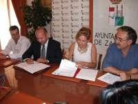 Firmado el acuerdo para mejorar el suministro de agua a Morales del Vino desde la capital zamorana