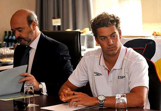 Rafa Muñoz, en el tribunal antidopaje de la FINA