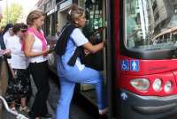 El transporte urbano en la Comunidad registro en junio 6,45 millones de usuarios, un 0,2 por ciento menos que en 2009