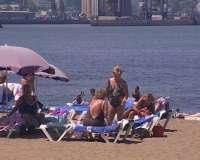 Cuatro playas vizcaínas prohíben el baño y ocho aconsejan hacerlo con precaución