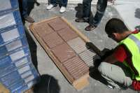 La Guardia Civil intercepta en Navarra parte de una organización de transporte internacional de hachís con 2.065 Kilos
