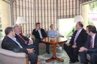 Araújo dice que incentivar la internacionalización de la economía de la provincia de Albacete es