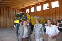 La base de helicópteros de Garray (Soria) se integra en el operativo de lucha contra incendios forestales