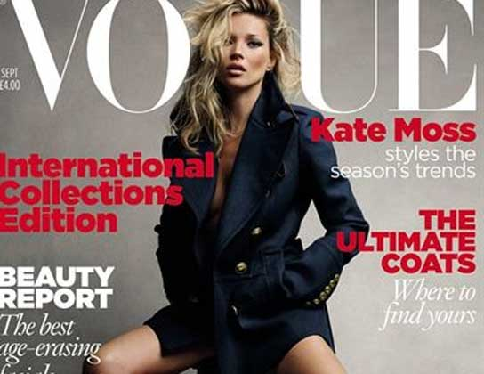 Kate moss vogue very