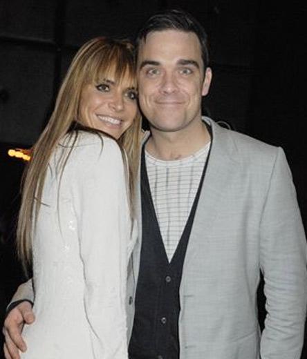 Robbie Williams y su novia