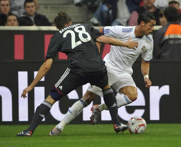 Badstuber y Ronaldo