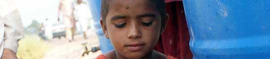 Las enfermedades amenazan a 3,5 millones de niños en Pakistán tras las inundaciones  (Imagen: Nadeem Khawer / EFE)