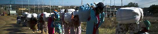 En la frontera de Melilla