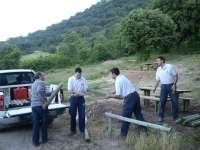 Un total de 40 personas en riesgo de exclusión participan en un programa para mejorar los espacios naturales de Navarra