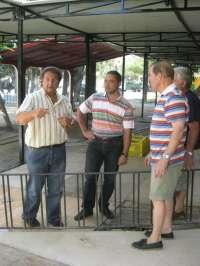 Continúan los preparativos en el recinto de Huertos del Malecón en Murcia