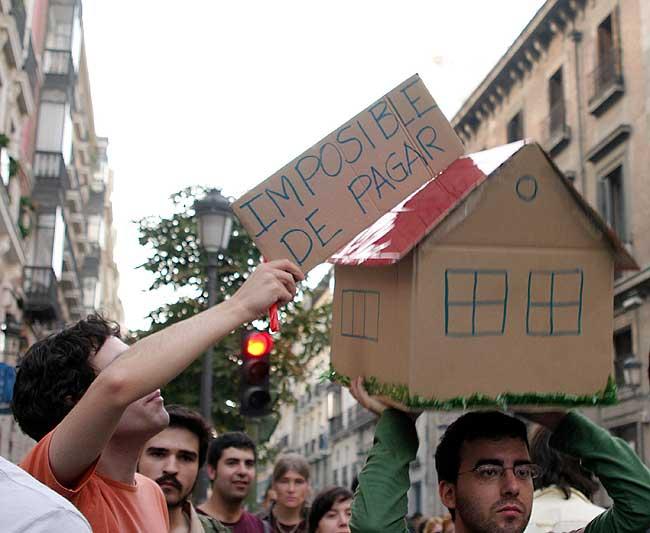 Protestas por la vivienda