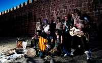 La compañía aragonesa Lurte presenta un adelanto de su próximo disco y ofrece adaptaciones de músicas tradicionales