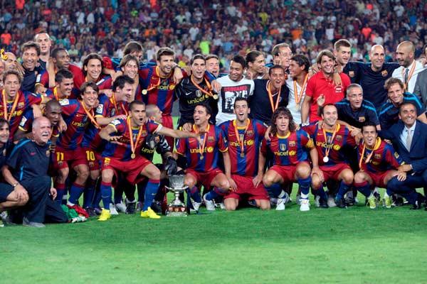 !! El Barcelona Venció Al Sevilla !!