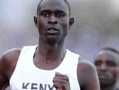 El keniano David Rudisha