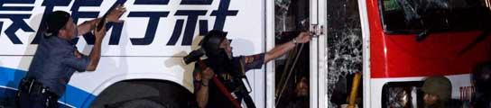 Mueren nueve de los rehenes y el secuestrador del autobús de Manila  (Imagen: Dennis M. Sabangan / EFE)
