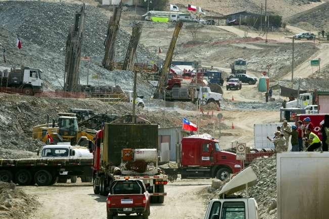 Un cheque de 8.000 euros por cada minero atrapado en Chile