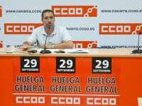 CCOO pide la implicación de todos los trabajadores para conseguir que el Gobierno