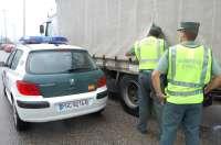 Detenidos tres jóvenes de nacionalidad rumana en O Porriño (Pontevedra) por robos continuados en 30 remolques y camiones