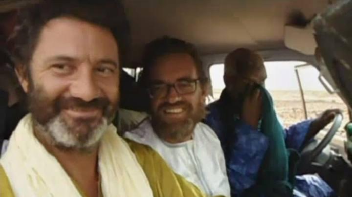 Los voluntarios viajaron en el mismo coche que su secuestrador tras la liberación