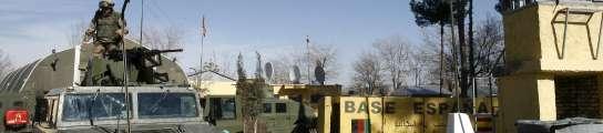 Base española en Qala I Naw (Afganistán)